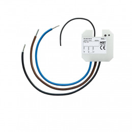 MDT RF-AKK1UP.01 / Актуатор релейный KNX RF 1-канальный, 230VAC, 16A, до 8 сцен