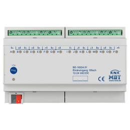 MDT BE-16024.01 / Модуль бинарных входов KNX, 16-канальный, для выходов 24VAC