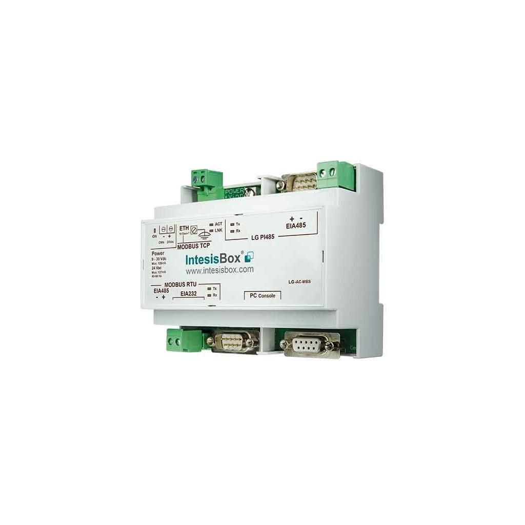 Intesis LG-AC-MBS-8 / Интерфейс ModBus для кондиционеров LG (VRF) до 8 внутренних блоков