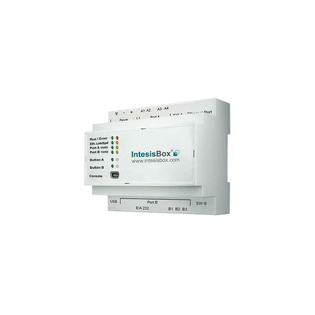 Intesis IBKNXHIS016O000 / Интерфейс KNX для кондиционеров HISENSE (PAC, VRF) до 16 внутренних блоков