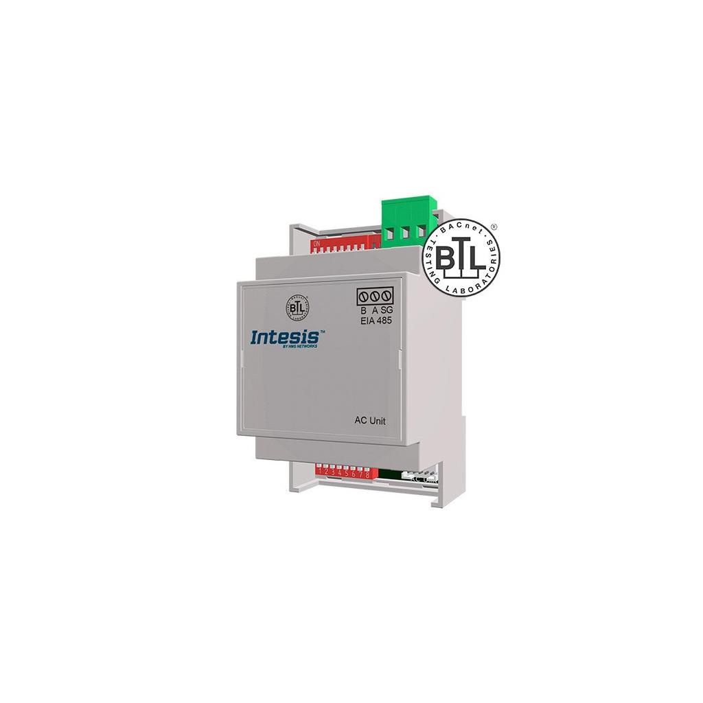 Intesis ME-AC-BAC-1L / Mitsubishi Electric Domestic, Mr.Slim and City Multi to BACnet MSTP Interface - 1 unit