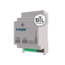 Intesis IBOX-BAC-ROUTER / BACnet MS/TP to BACnet IP Router - 32 devices