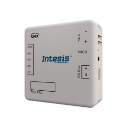 Intesis HS-RC-KNX-1i / Hisense VRF systems to KNX Interface with binary inputs - 1 unit