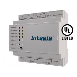 Intesis HI-AC-KNX-16 / Hitachi VRF systems to KNX Interface - 16 units