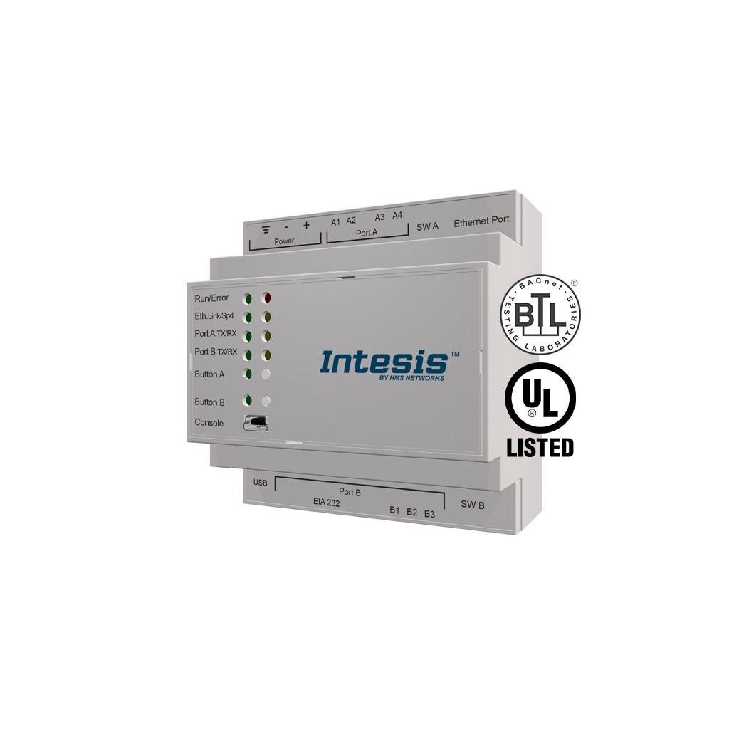 Intesis IBOX-MBS-BAC-3K0 / BACnet IP MS/TP Client to Modbus TCP RTU Server Gateway - 3000 points