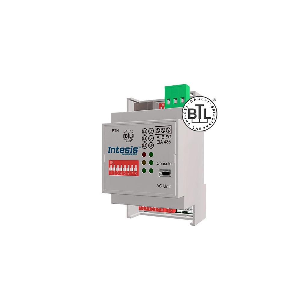 Intesis ME-AC-BAC-1 / Mitsubishi Electric Domestic, Mr.Slim and City Multi to BACnet IP/MSTP Interface - 1 unit