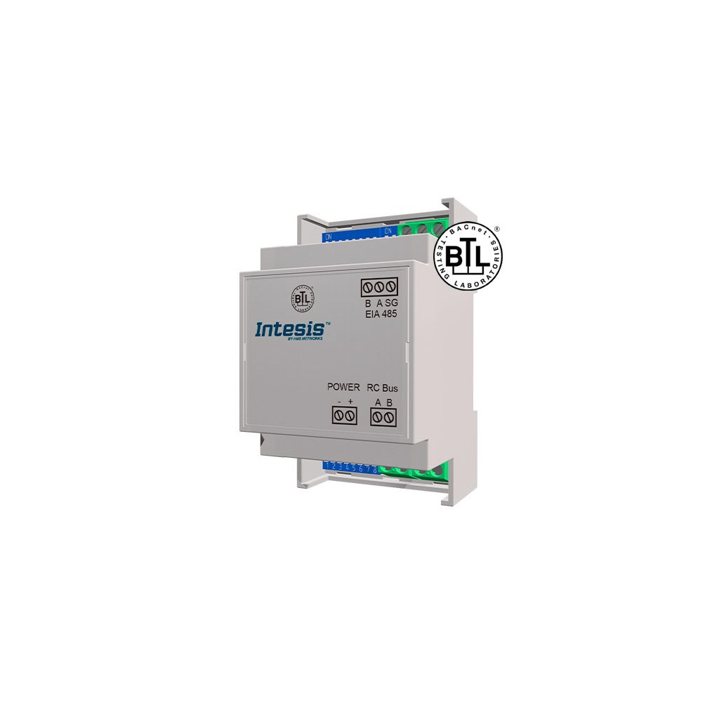 Intesis TO-RC-BAC-1L / Toshiba VRF and Digital systems to BACnet MSTP Interface - 1 unit