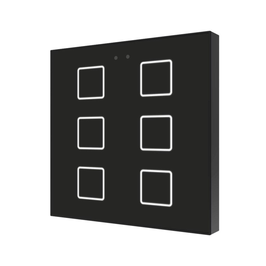 Flat / Выключатель KNX сенсорный с подсветкой