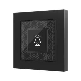 Flat 55 / Выключатель KNX сенсорный с подсветкой (стандарт рамки 55x55мм)