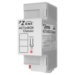 ACTinBOX CLASSIC HYBRID / Модуль KNX дискретных входов и выходов, 6 вх,4 вых.