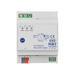 MDT STV-0640.02 / Источник питания KNX, 230VAC / 29VDC, номинальная нагрузка 640мА