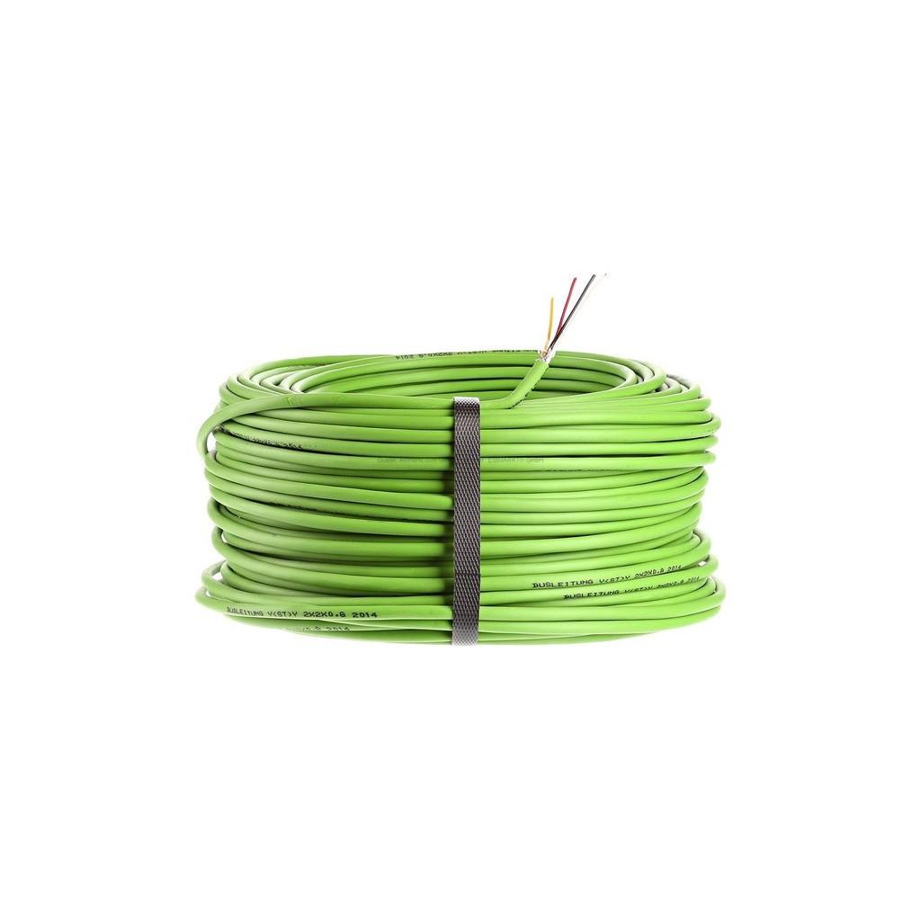 Zennio Cable KNX/EIB (Кабель для шины KNX/EIB, 2x2x0,8 mm - HF 300V, 200м)